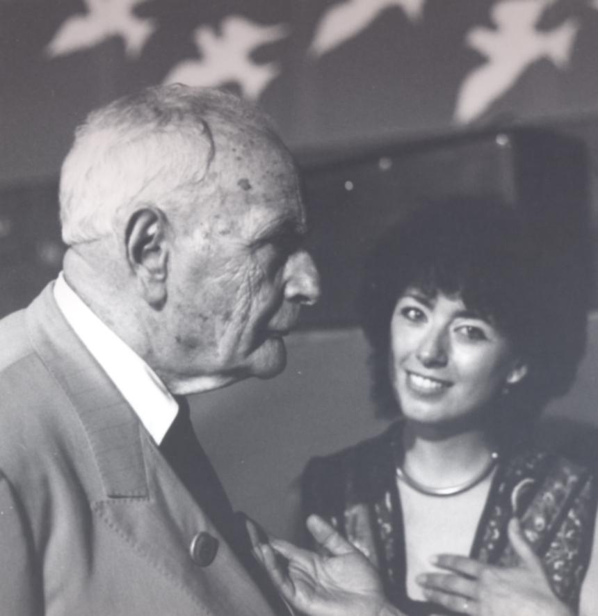 Louis Aragon e Sandra Landi
